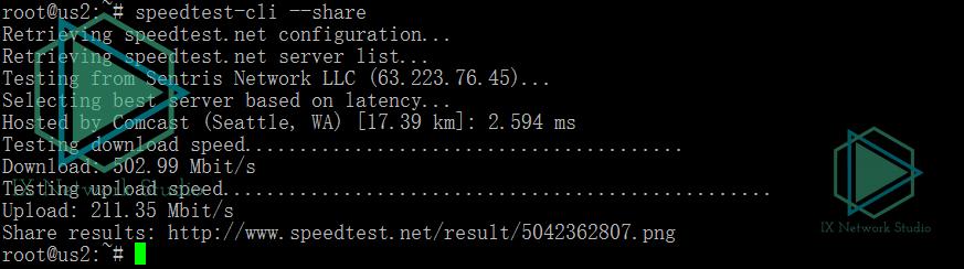 服务端网络速度,高达500MBps/200MBps